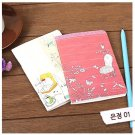 Zakka Garden Chair Flowers SMALL Notebook Journal 2 Designs