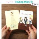 Zakka Girl Eating Ice Cream Friends SMALL Notebook Journal 2's