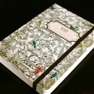 Zakka Sweet Soothing Words Birds Flowers Handheld Journal Notebook
