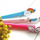 Zakka Rainbow Clouds Bird Animal Ballpoint Pens 3's