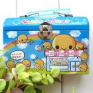 Kawaii Crux Blue Nattochan Food Cafe Note Memo Pad