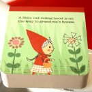 Shinzi Katoh Red Riding Hood Flowers Small Memo Note Pad