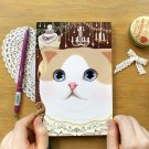 Jetoy Retro Vintage Style Cat Line Notebook Journal - Chandelier