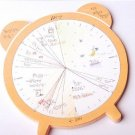 Fun Clock Shape Time Note Post It Note Memo Pad