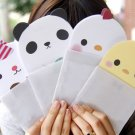 Kawaii Colorful Panda Bear Chick Cat Message Cartoon Letterset Letter Set - 4 Sets