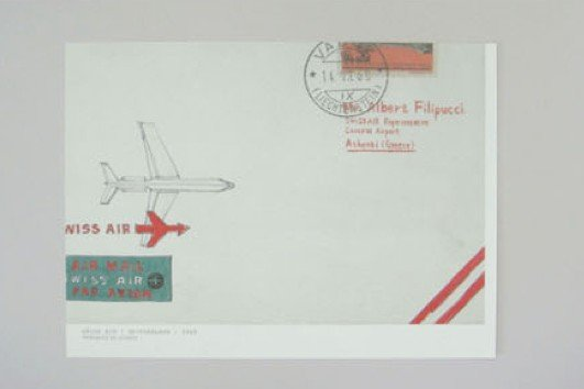 Travel Postal Airmail Aeroplane Letter Set Letterset