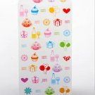 Lovely Rainbow Colors Cupcake Party Gift Invite Letter Envelopes 5's