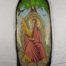 Hand Painted on wood Orthodox icon Saint Elias ( 59 x 25 cm ) - Traditional From Romania