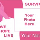 Personalized Breast Cancer Awareness Picture