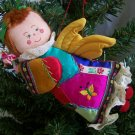 Vintage Angel Doll Christmas Tree Ornament 1 Cent Shipping USA