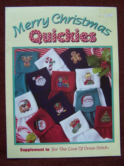 1 Cent USA S&H Leisure Arts Cross Stitch Patterns Christmas Craft Quickies USA 1 Cent Shipping