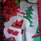 USA 1 Cent S&H Vintage Santa Claus Crochet Christmas Pattern with Graph