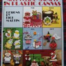 21 Vintage Patterns Holiday Magnets in Plastic Canvas Pattern Leaflet 1138
