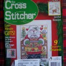 December 2000 The Cross Stitcher Christmas Cross Stitch Charts Patterns