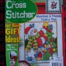 December 2001 Cross Stitcher Back Issue Stitch Christmas Pattern Magazine