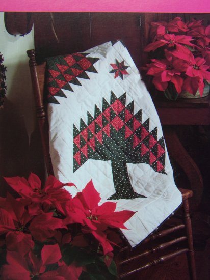 50 Cent USA S&H Christmas Tree Quilt Pattern Holiday Winter Quilting
