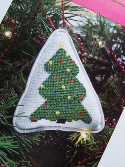 50 Cent S&H USA Cross Stitch Christmas Tree Ornament Pattern