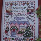 Christmas Cross Stitch Pattern Magazine # 73 Nov 2002 Needlecraft Patterns