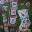 1970's Vintage Christmas Patterns Charted Cross Stitch & Needlepoint Book