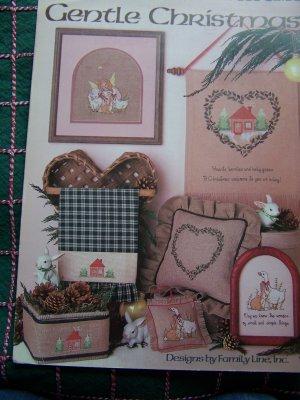 1 Cent USA S&H Vintage 80's Christmas Cross Stitch Leaflet 506