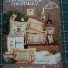 Cinnamon Stick Christmas V Cross Stitch Embroidery Needlepoint Patterns Book 110