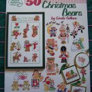 Christmas Cross Stitch Patterns 50 Bears American School of Needlework Embroidery Book 3690