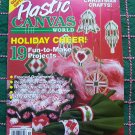 Plastic Canvas World Magazine Nov 92 Christmas Needlework Patterns
