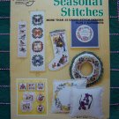 70's Vintage Seasonal Stitches 35 Cross Stitch Patterns & 4 Alphabets Book S-5