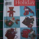 Christmas Sewing Patterns Stockings Apron Hat Scarf Shorts Headband 7908