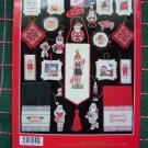 100 Cross Stitch Patterns Christmas Stockings Ornaments Sports Santa Animals more