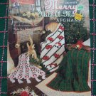 Annie's Mile A Minute Crochet Patterns Merry Christmas Afghans