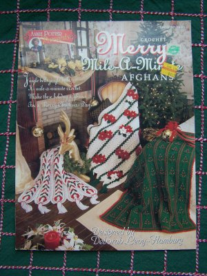 Amazon.com: Mile-A-Minute Afghans (Leisure Arts #108200) (Crochet