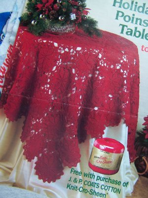 Poinsettias PDF Crochet Pattern - $2.00 : The Fabled Needle, fairy