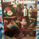 Free USA S&H 1970's 12 Vintage Christmas Crochet Patterns Leisure Arts 81