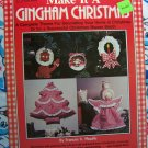 Vintage Country Gingham Fabric Christmas Ornaments Stockings Tree SKirt ANgel Topper