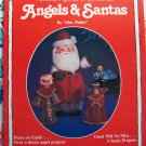 Free USA Shipping Vintage 80's Plaid Christmas Pattern Book 12 Angels 5 Santas 7378