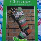 Vintage Country Calico Fabric Christmas Patterns Ornaments Tree Skirt Stocking