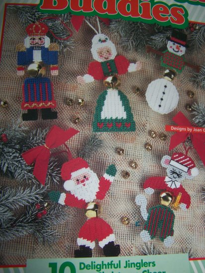 Plastic canvas patterns christmas ornaments jingle bell