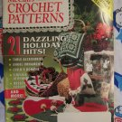 McCall's Crochet Christmas Patterns Magazine 1993 Poinsettia Skirt Snowflake Victorian Ornaments