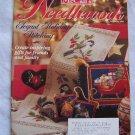 McCall's Dec 1994 Christmas Needlework Patterns Knitting Sewing Cross Stitch