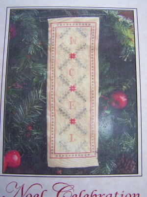 New 2008 Heirloom Embroideries Noel Celebration Embroidery Chart