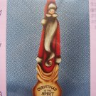 USA Free S&H Vintage Tole Painting Pattern Santa Christmas is the Spirit of Giving