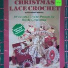 10 Vintage Victorian Christmas Lace Crochet Patterns Book 7808
