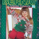 Vintage Christmas Knitting & Crochet Patterns Tree SKirt Ornaments Stockings Cozy Kids