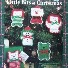 USA Free S&H Crochet Patterns 6 Christmas Ornaments Angel Elf Cat Doll Snowlady Bear
