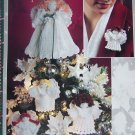 Free USA S&H Crochet Christmas Angel Patterns Tree Topper Centerpiece Ornaments 2679