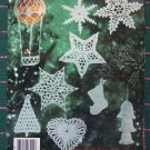 USA Free S&H Christmas Thread Crochet Patterns Tree Topper 8 Ornaments 8 Snowflakes