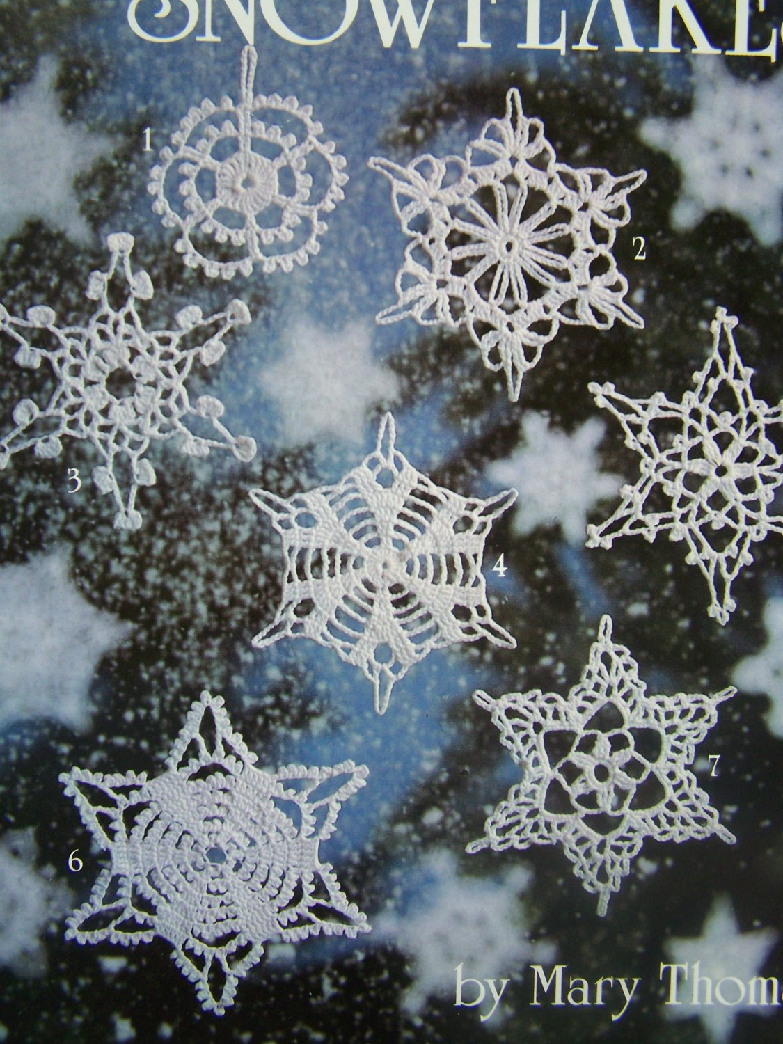 16 Vintage Snowflakes Christmas Crochet Patterns Ornaments ...