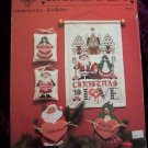 Vintage Christmas Is Love Cross Stitch Pattern by Emie Bishop Cross N Patch