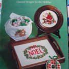 Vintage Christmas Stitchin Cross Stitch Holiday Patterns Book Free USA S&H